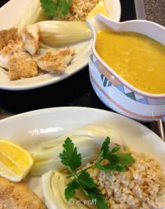 Leichter Frühlings-Fenchel an Orangen-Curry (Mein Thermi-Rezept)