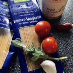 Salbei-Bohnen-Spaghetti